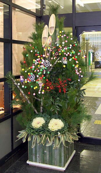 Kadomatsu Passagem de Ano no Japão