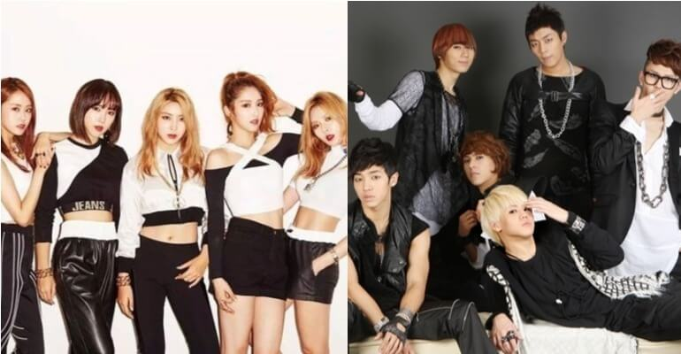 4Minute and Beast Cube Entertainment