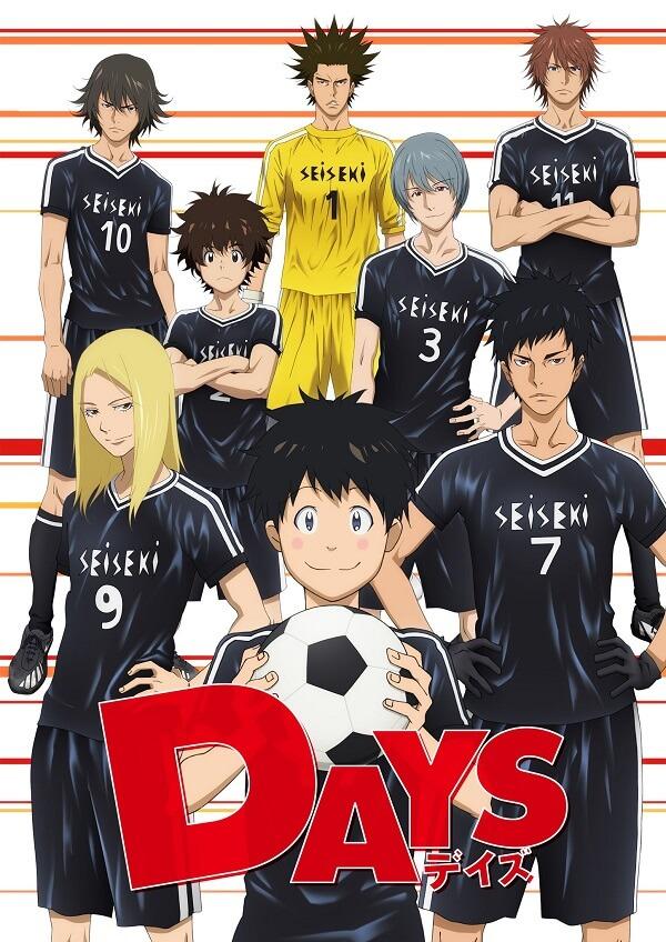 DAYS - Manga de Futebol chega ao Fim em Janeiro