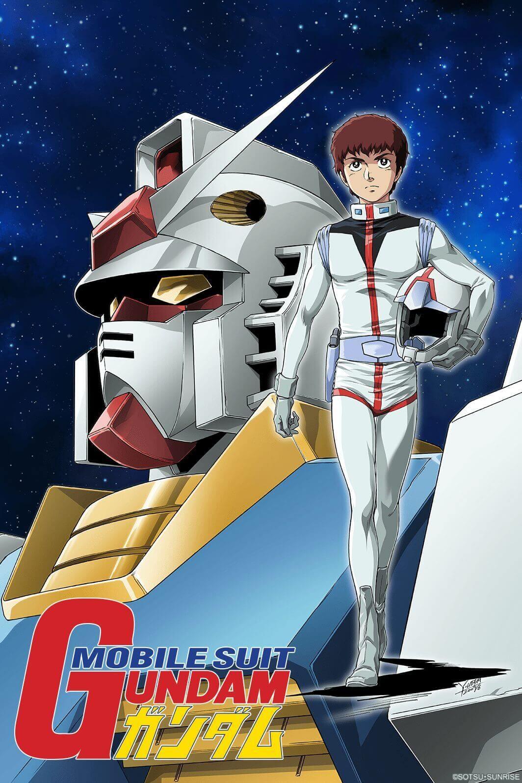 Crunchyroll adiciona Mobile Suit Gundam ao Catálogo!