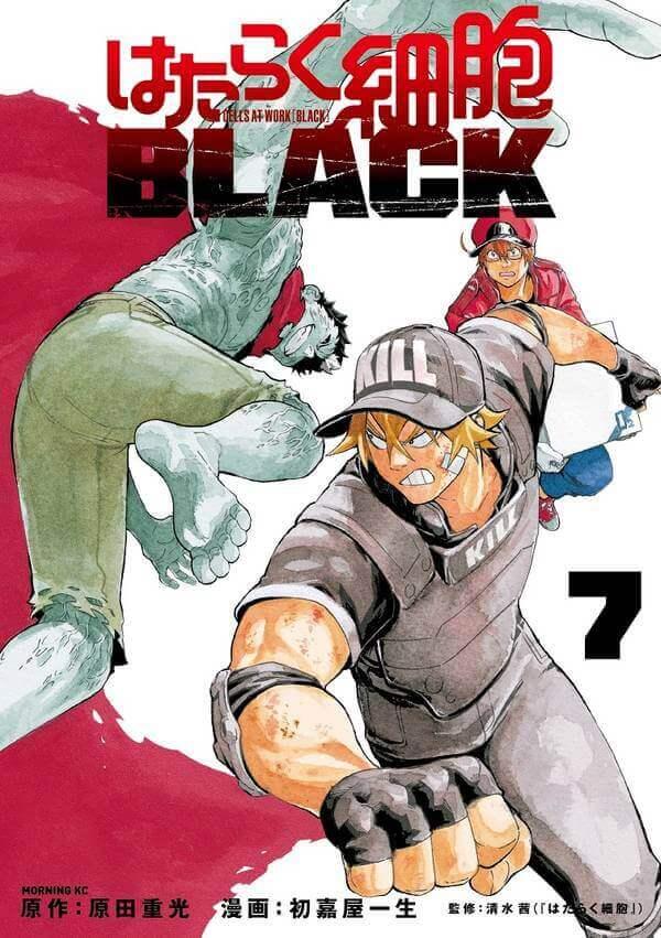 Hataraku Saibou BLACK – Manga anuncia Final