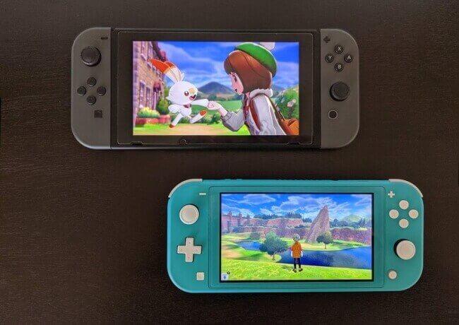 Nintendo Switch Vs Lite