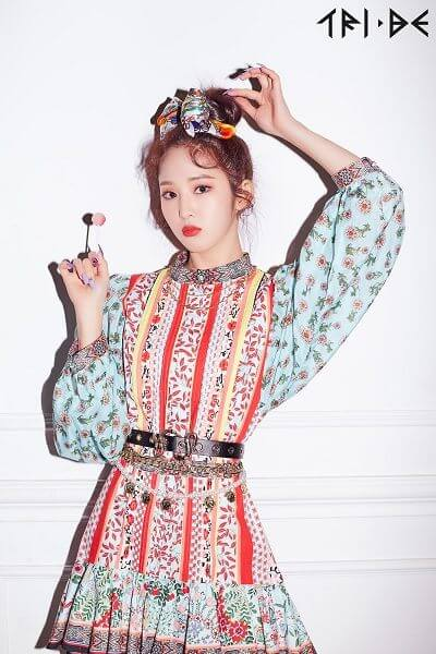 TRI.BE - Novo grupo feminino apresenta Membros songsun