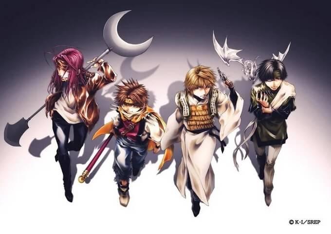 Saiyuki Reload - Arc'Even a Worm' recebe Anime