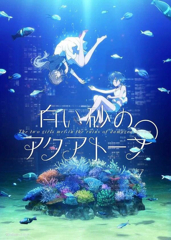 Shiro Suna no Auatrope - P.A. Works revela Novo Anime Original