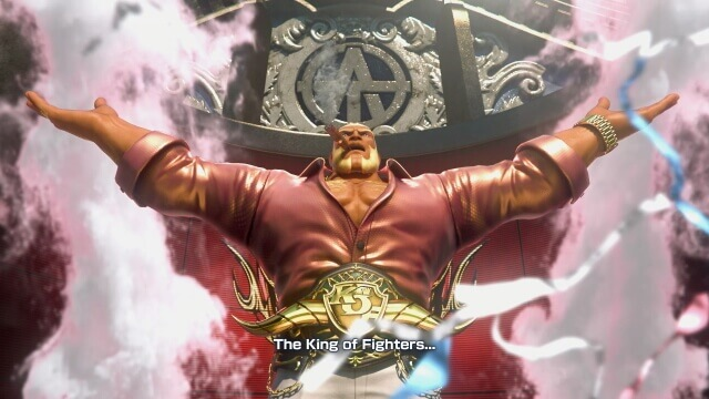 The King of Fighter XIV - apresentação do Antonov