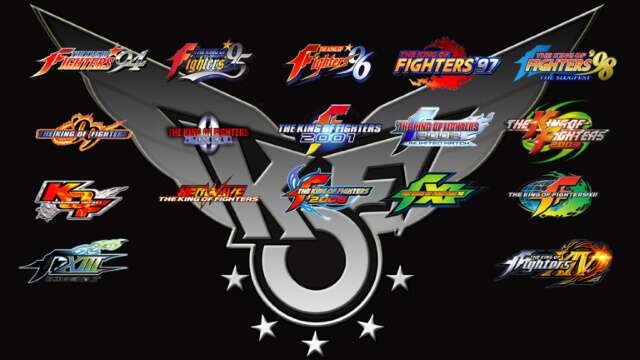 The King of Fighter - Todos os logotipos
