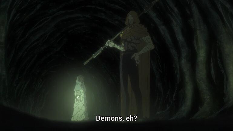 demonio episodio 2 yakusoku no neverland segunda temporada