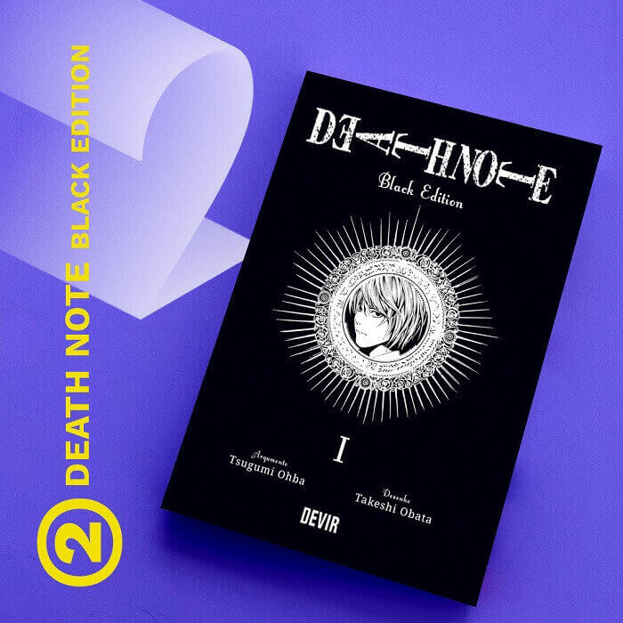 manga mais vendido 2020 devir death note black edition