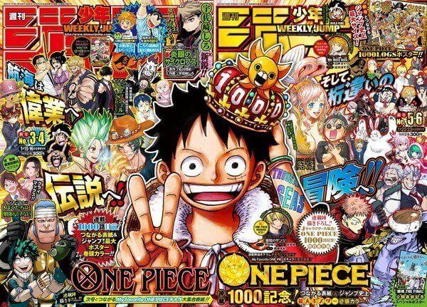 one piece 1000 chapters manga Weekly Shonen Jump