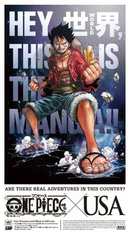 one piece manga ad new york times