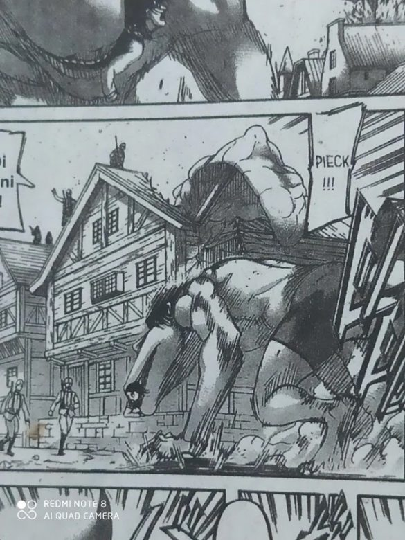 Attack on Titan - Manga na Malásia censura Titãs...com Calções