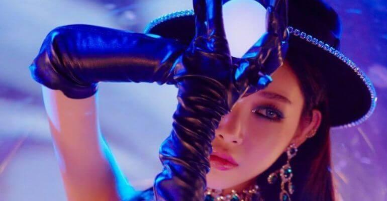 Chungha lança Teasers para 1º Álbum Completo