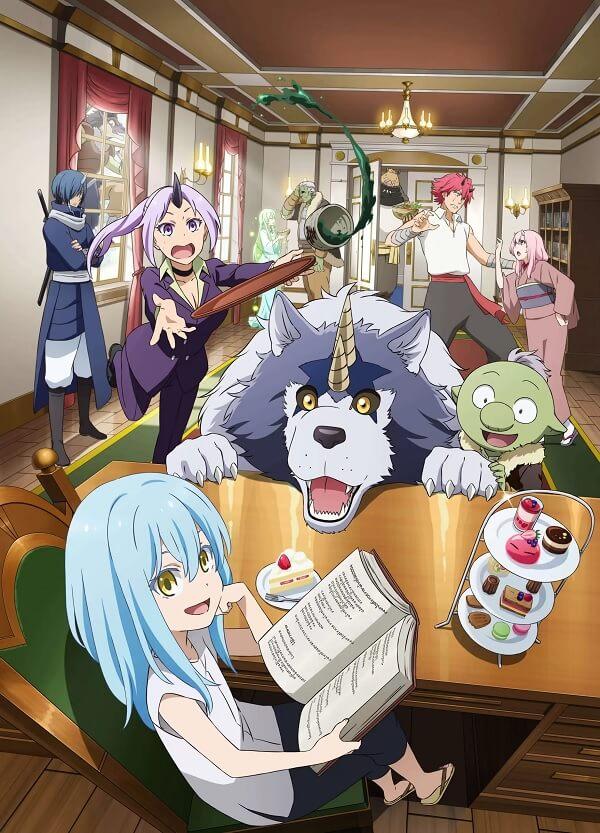 Tensura Nikki Tensei Shitara Slime Datta Ken - Anime revela Estreia