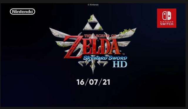 The Legend of Zelda: Skyward Sword HD estará disponível a 16 de julho de 2021