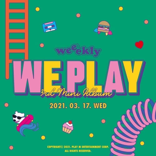 WEEEKLY 3rd mini album We Play