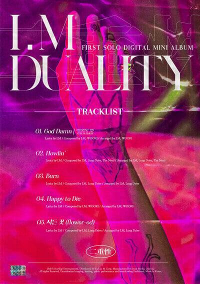 "duality im monsta x changkyun tracklist I.M (Monsta X) Mini Álbum ""DUALITY"" - Análise K-Pop"