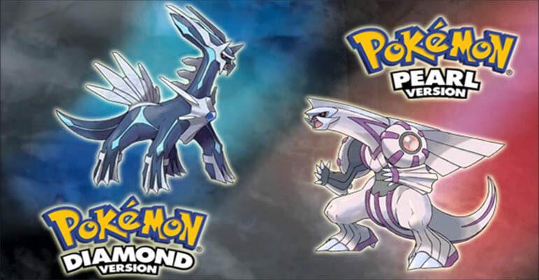Pokémon Diamond e Pearl recebem Remakes