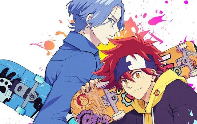 SK8 the Infinity - Anime recebe adaptação manga