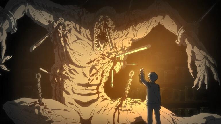 neverland segunda season demonio gigante