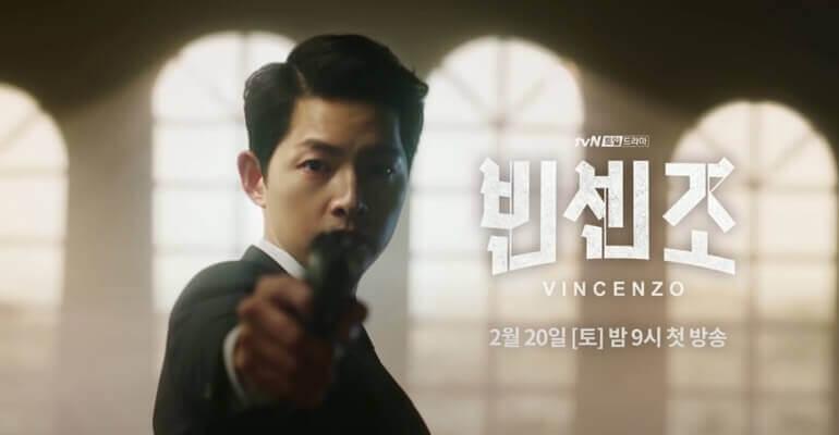 vincenzo 15 K-Dramas a ver em 2021