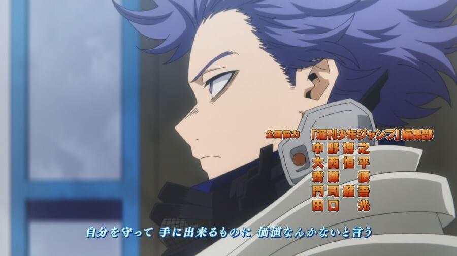 Boku no Hero Academia Temporada 5 Shinso