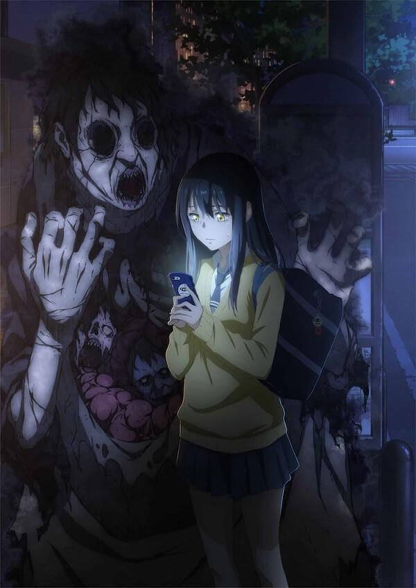 Mieruko-chan - Manga de comédia-horror recebe Anime