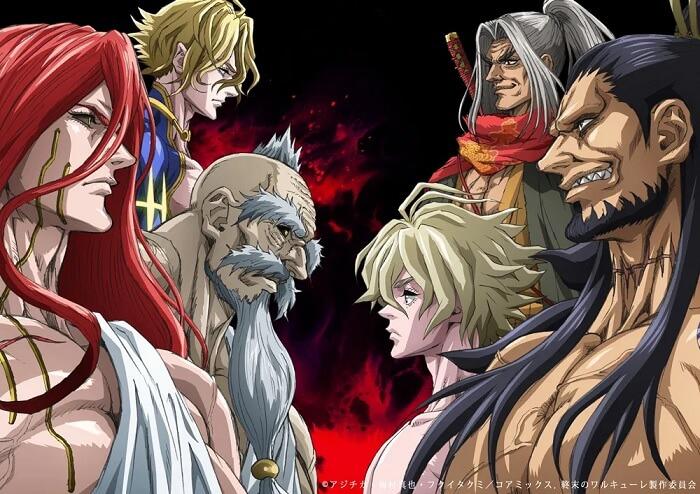 Shuumatsu no Walküre - Anime mais Elenco e Poster