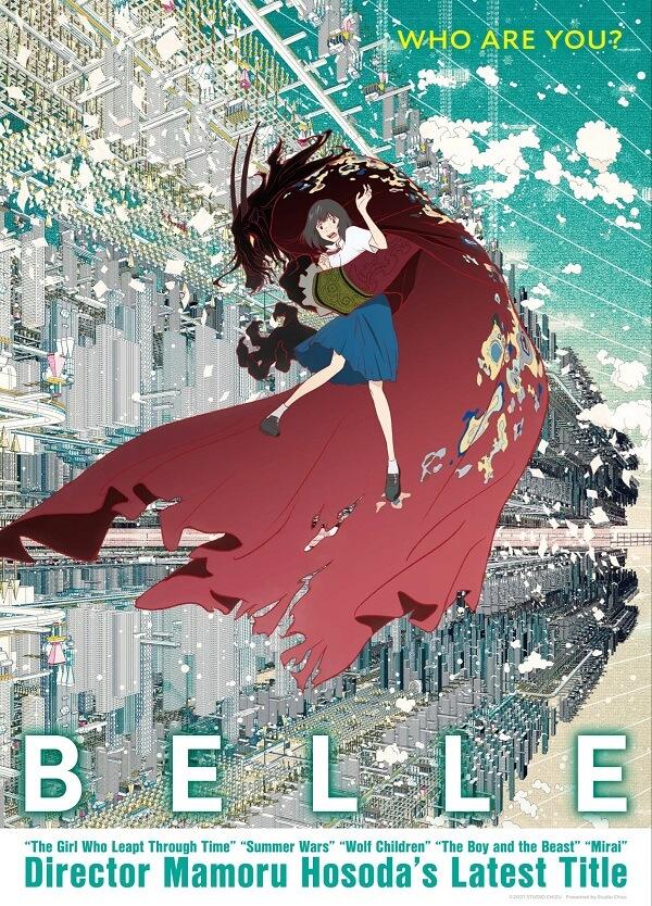 Belle - Filme de Mamoru Hosoda recebe Trailer