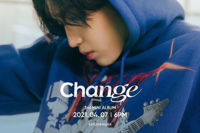 "Kim Jae Hwan partilha Teasers do novo mini álbum ""Change"""