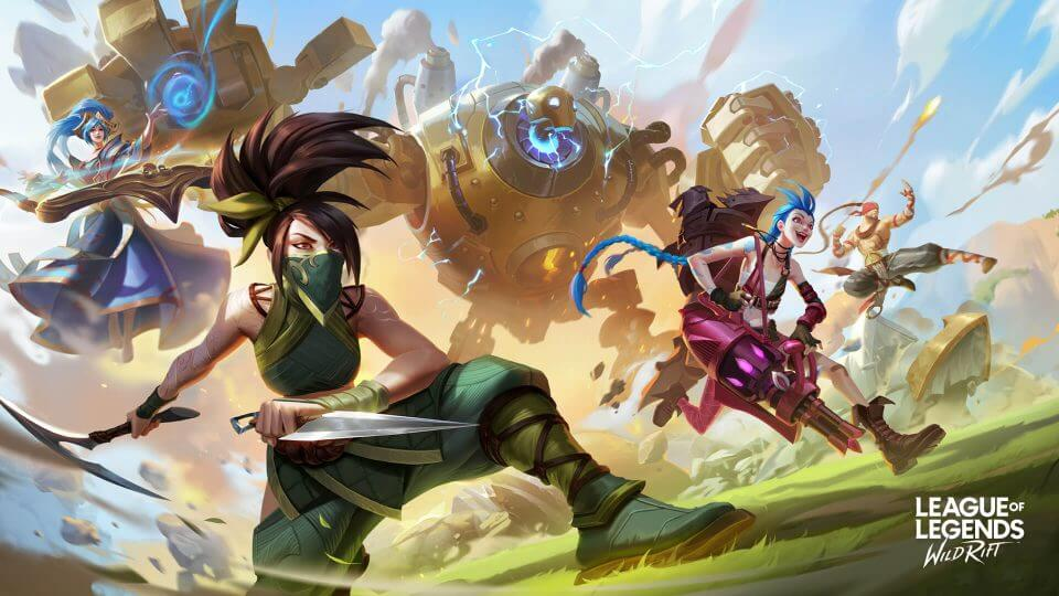 Wild Rift - O League of Legends para Smartphones