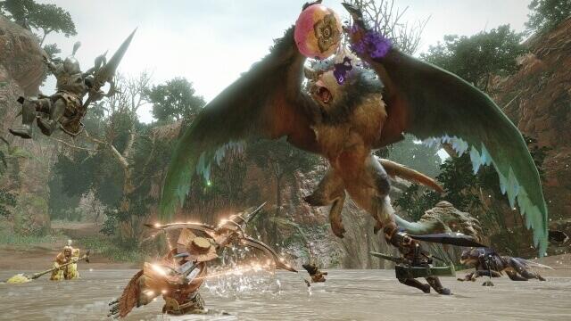 Monster Hunter Rise - Batalha contra Bishaten