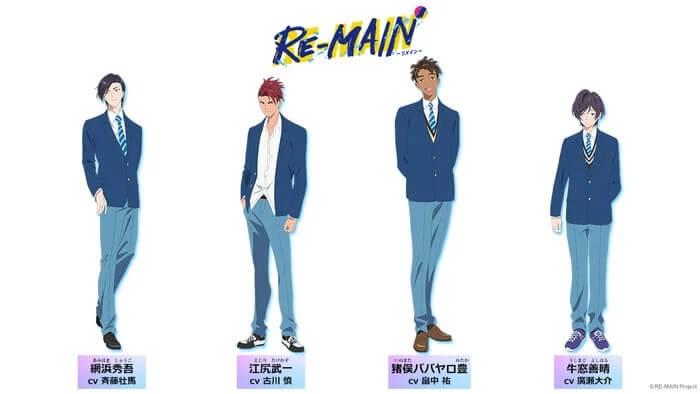 RE-MAIN - Anime original revela 1.º Teaser Trailer