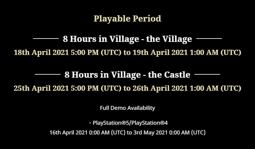 Resident Evil Village - Detalhes da Demo e Novo Modo de Jogo
