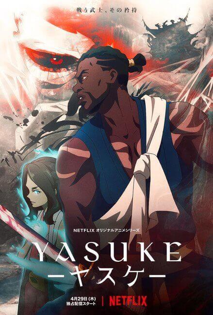 Yasuke - Anime revela Novo Trailer e Arte Promocional