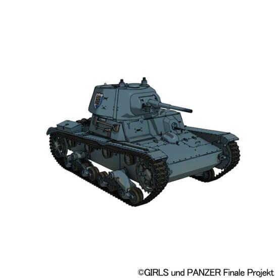 girls und panzer terceiro filme novo t-26 tanque visual Girls und Panzer das Finale 4