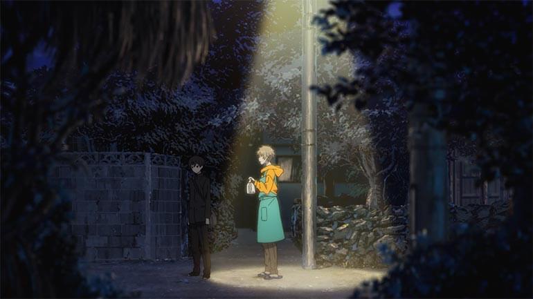 Romance entre rapazes anime Umibe no Étranger