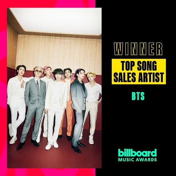 BTS vencem 4 Prémios nos Billboard Music Awards de 2021