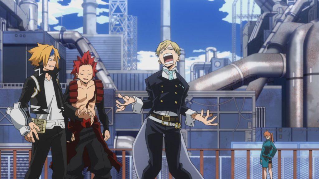 Boku no Hero Academia episódio 9