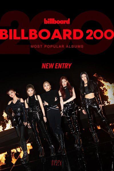 "ITZY estreiam-se na Billboard 200 com ""GUESS WHO"""