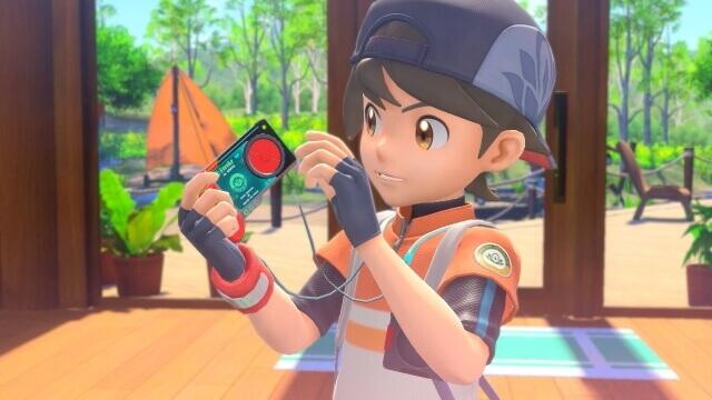 New Pokémon Snap – Jogador com máquina fotográfica