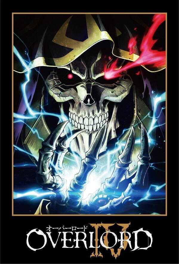 Overlord - Anime recebe 4.ª Temporada e Novo Filme