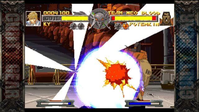 "Ky Kyske a usar o Chaos Move ""Ride the Lightning"" em Potemkin"