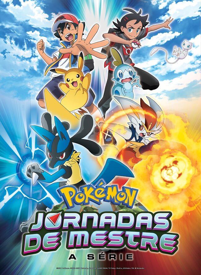 Pokémon Master Journeys - 24.ª Temporada Anime estreia este Verão