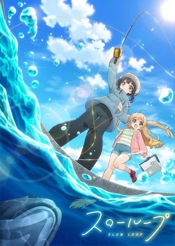 Slow Loop - Anime revela Mês de Estreia e Poster
