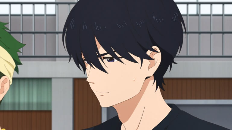 bakuten anime episodio 8 misato analise