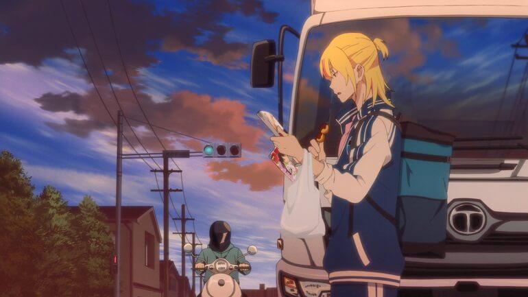 bakuten anime episodio 8 onagawa atropelamento