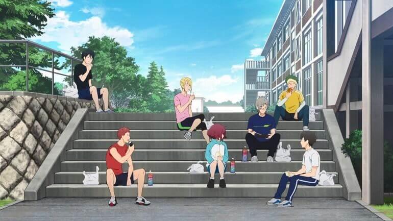 bakuten episodio 4 misato grupo backflip episode anime