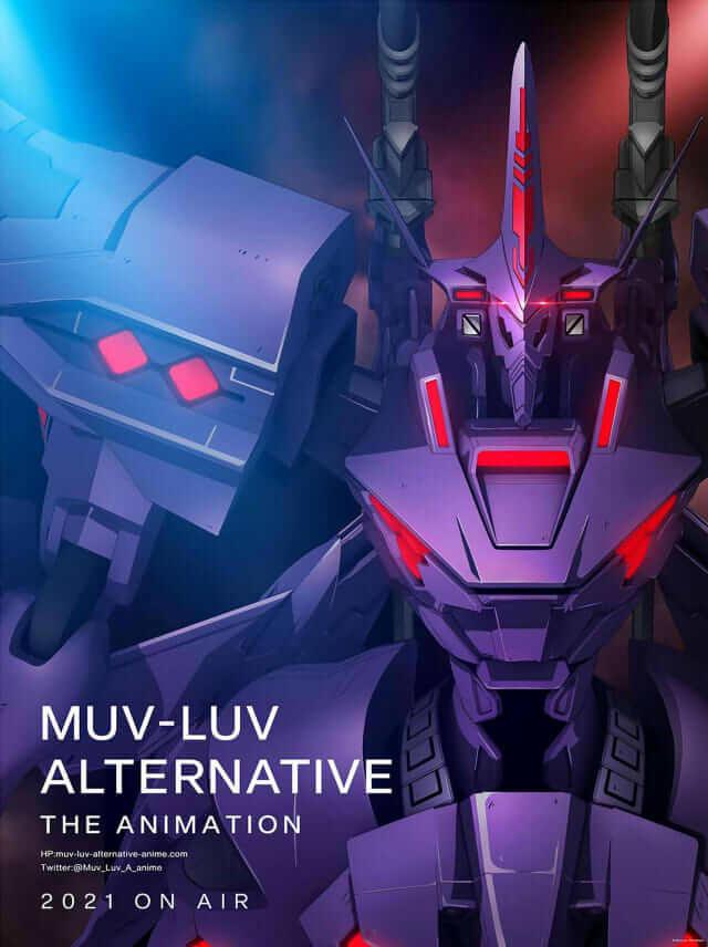 Muv Luv Alternative - Anime revela Vídeo Promocional