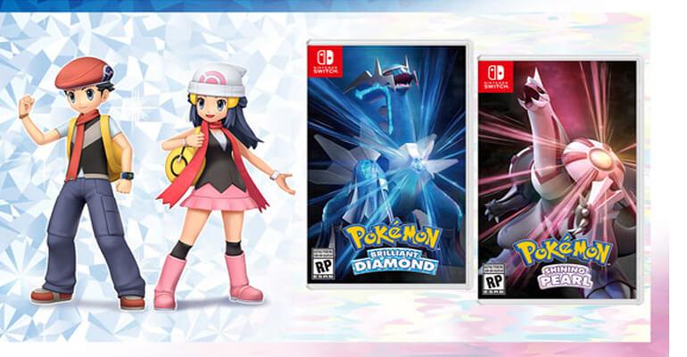 Próximos títulos Pokémon recebem data de lançamento